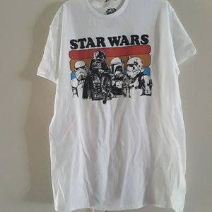 Star wars shirt Darth Vader and Storm Troopers